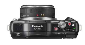Digital Camera With Pancake Lens Attached