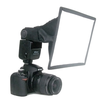 Collapsible softbox for macro photography lighting