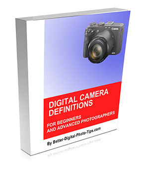 Digital Camera Definitions-Book Cover