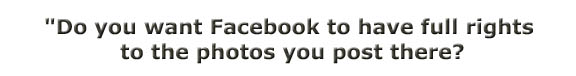 Facebook ownership rights to your photos - banner
