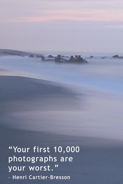 Famous nature photographer quote