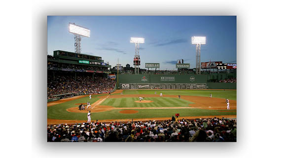 Fenway night photo