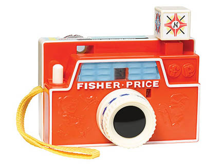 Vintage toy camera by Fisher Price