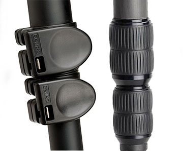 monopod leg clamp comparison