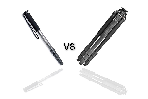 Comparison of Folded Tripod and Folded Monopod