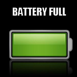 Full camera battery indicator