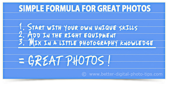 Great photo formula