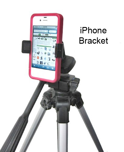 iPhone Tripod Bracket
