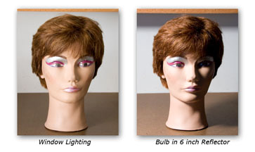 The direction of light - where it is coming from has a big effect on how your subject appears to your eyes.