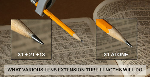 extension tube comparison