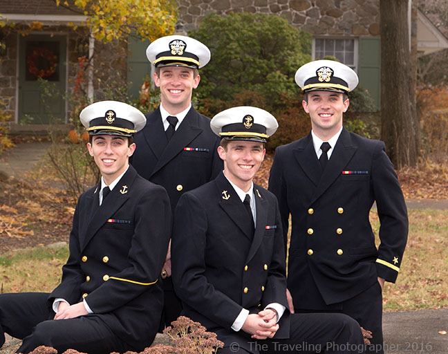 Military theme - 4 brothers that attended the Naval Academy