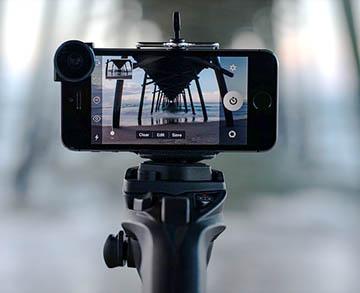 camera LCD monopod