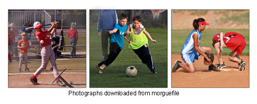 The Monopod Vs Tripod battle goes with youth sports photography too