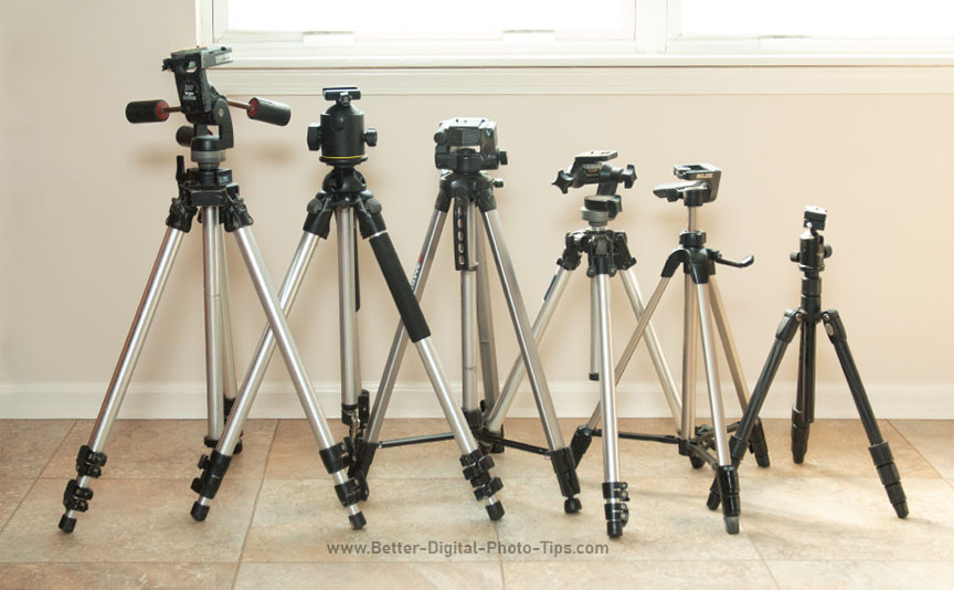 Bruce's tripod collection