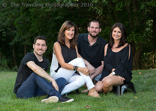 Outdoor Family Portrait Photography by The Traveling Photographer