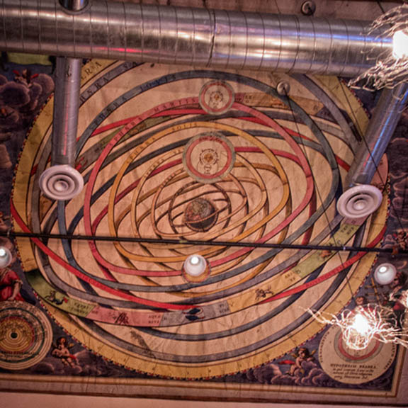 State College PA Brewery Ceiling Pattern