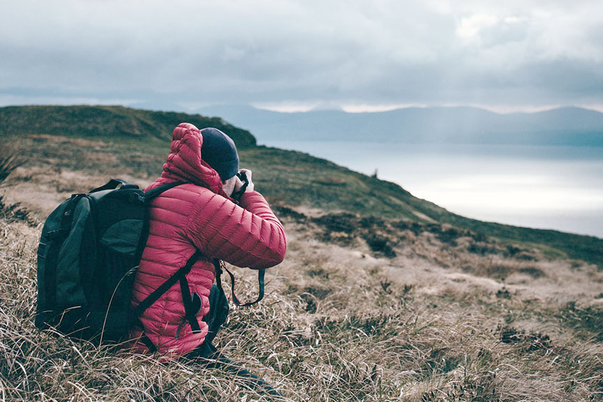 Hiking Photographer's backpack