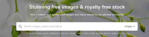 pixabay image search screenshot
