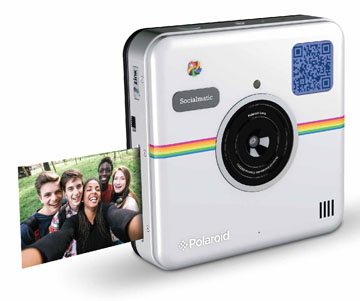 would Taylor Swift like the Polaroid Socialmatic Print Camera