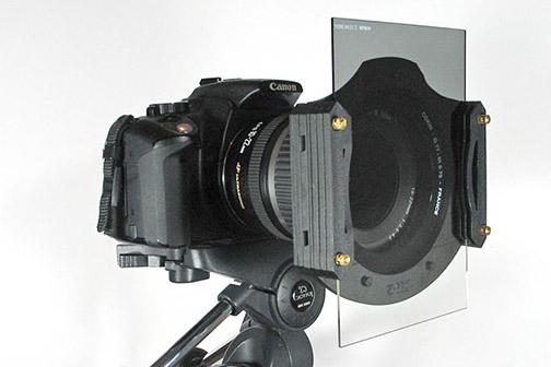 Rectangular filter holder