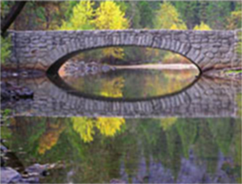 Reflection rule of thirds