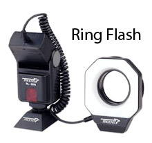 Ring flash, if used properly, can give you great results with your macro photography lighting