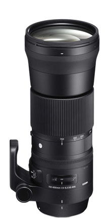 Sigma 150-600mm Vertical