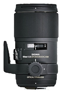 Sigma 150mm close-up photography lens for Nikon cameras