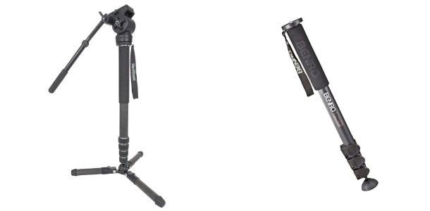 Simple vs complex monopod comparison