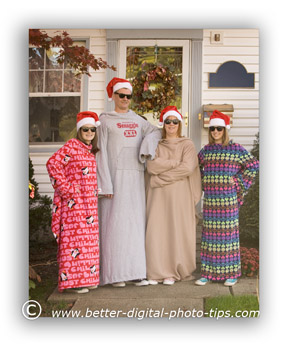 Snuggies Holiday Portrait