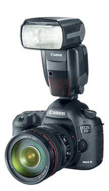 External flash for DSLR