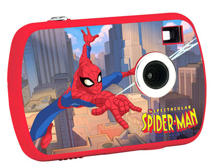 Spiderman toy camera