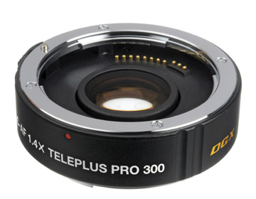 Teleconverter for magnifying your photo