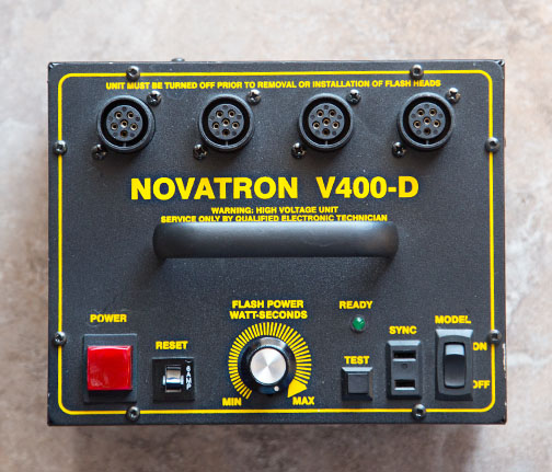 Novatron v400 power pack -Top View