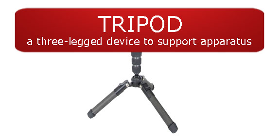 Tripod Definition-red banner