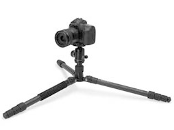 Tripod for shooting at ground level