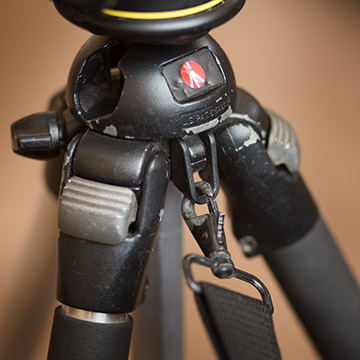 Tripod strap attachment