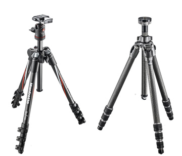 The Gitzo Mountaineer and The Manfrotto Befree Carbon Tripod