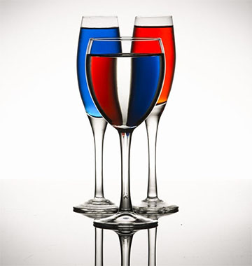 Unique Glassware Photography