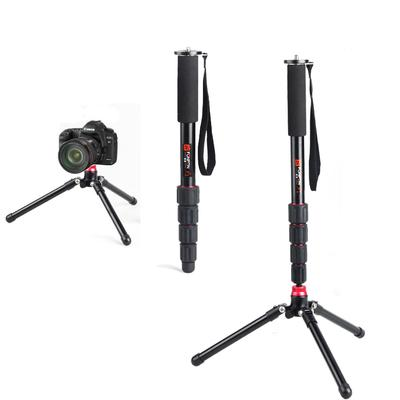 Unipod-Tripod Combination