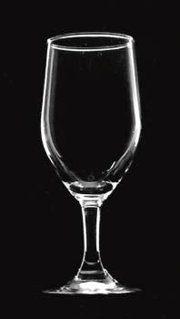 White-line lighting of wine glass requires a darkened room with no other lights on