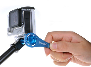 Wrenchboy accessory wrench for tightening GoPro extra snug
