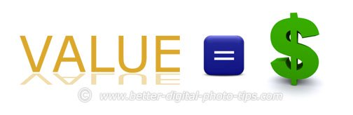 What is the value of different digital photography editing software?