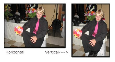 Photo Composition Tips - Try a Vertical and a Horizontal Orientation