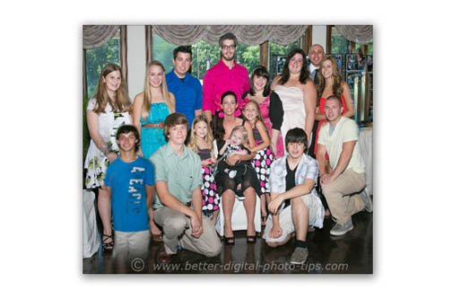 Large Group Photo of Grandchildren - Adjusted