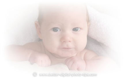 High Key Photography - Baby Poses