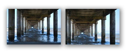 Using The Photography Rule of Thirds on a Composition of an Ocean Pier