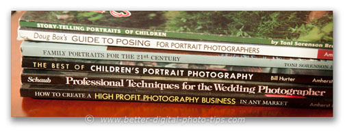 Portrait photography books-collection