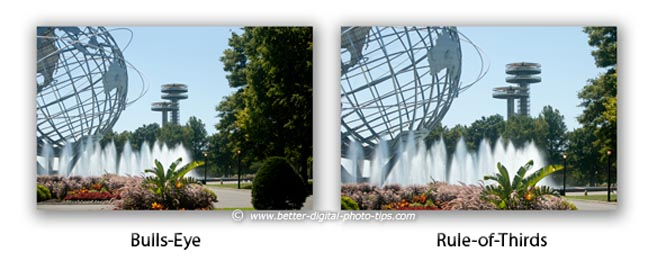 Rule of Thirds in Photography - Easy way to adjust composition in camera