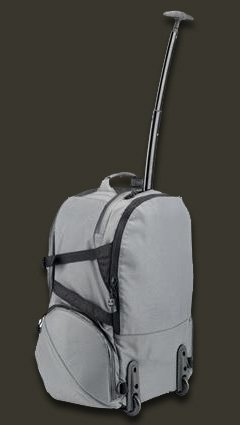 Tenba camera backpack with wheels and extending handle